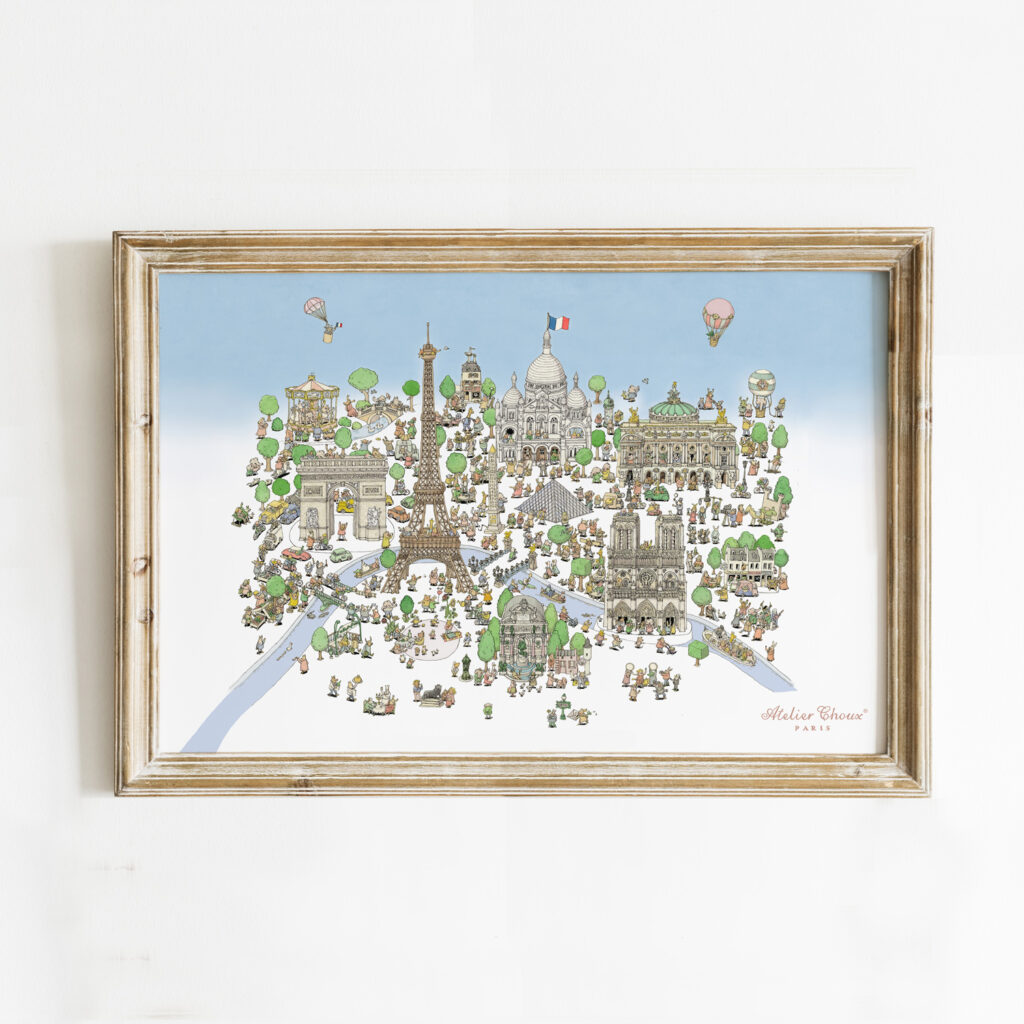 Art print Paris