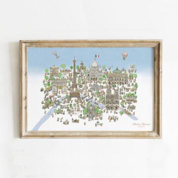 Art print Paris