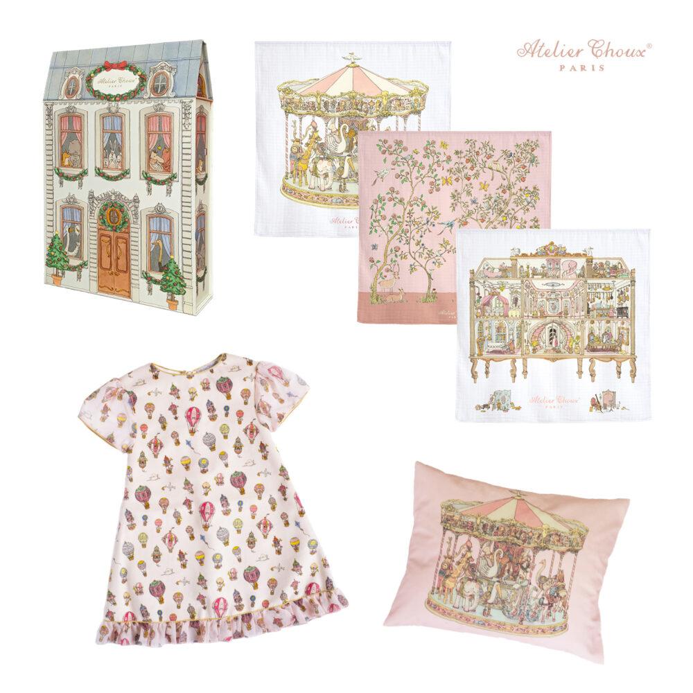 Baby Girl Christmas Gift Set